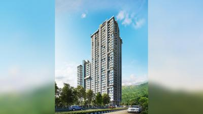 Gallery Cover Image of 1035 Sq.ft 2 BHK Apartment for buy in Ashar Maple B Wing, Mulund West for 11600000