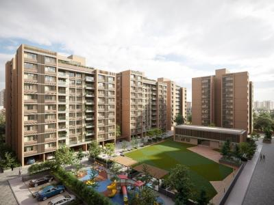 Gallery Cover Image of 2230 Sq.ft 3 BHK Apartment for buy in Aahna Shilp Shaligram, Vastrapur for 12711100