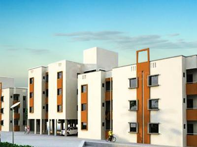 Gallery Cover Image of 450 Sq.ft 1 RK Apartment for buy in Gokul Galaxy, Kathwada for 800000