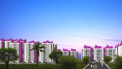 Gallery Cover Image of 625 Sq.ft 1 BHK Apartment for rent in Puraniks Puraniks City Phase 1, Thane West for 15500
