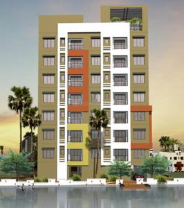 Gallery Cover Image of 1137 Sq.ft 2 BHK Apartment for buy in Daffodil Waterfront, Sarsuna for 4150000