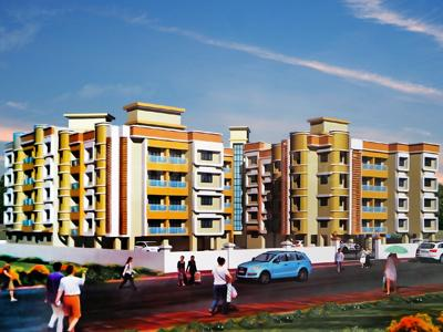 Gallery Cover Image of 520 Sq.ft 1 BHK Apartment for rent in Shree Bhoomi Avantika Complex, Chandansar for 5500