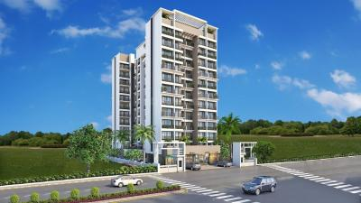 Gallery Cover Image of 1090 Sq.ft 2 BHK Apartment for buy in Tricity Avenue, Ulwe for 10300000