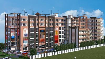Gallery Cover Image of 675 Sq.ft Studio Apartment for buy in Tak Build Tech Forest Residency, Malsi for 2800000