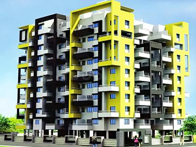 Gallery Cover Image of 640 Sq.ft 1 BHK Apartment for buy in DS Atulya Park Royale, Dighi for 3300000
