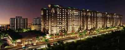 Gallery Cover Image of 1120 Sq.ft 3 BHK Apartment for rent in NSG Royal One, Pimple Nilakh for 23000