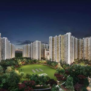 Gallery Cover Image of 950 Sq.ft 3 BHK Apartment for buy in Runwal Gardens Phase 3 Bldg No 27 28, Dombivli East for 6814000