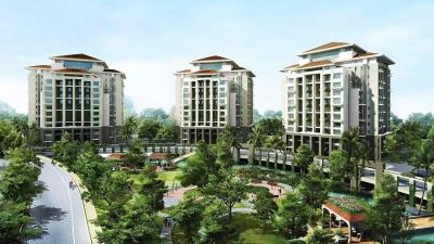 Gallery Cover Image of 2041 Sq.ft 3 BHK Apartment for rent in Enerrgia Skyi Songbirds Iris, Bhugaon for 35000