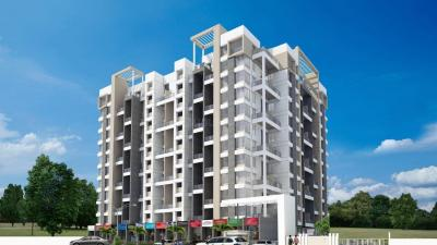 Gallery Cover Image of 640 Sq.ft 1 BHK Apartment for buy in Gagan Properties Renaissance, Pisoli for 3000000