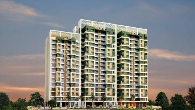 Gallery Cover Image of 1063 Sq.ft 2 BHK Apartment for buy in Cosmos Empress Park, Kasarvadavali, Thane West for 9900000