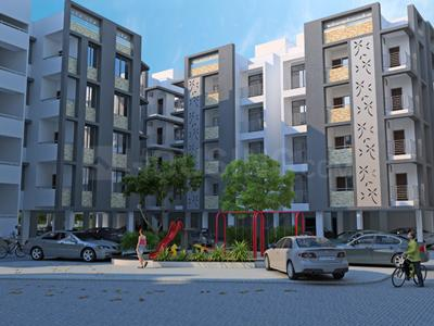 Gallery Cover Image of 160 Sq.ft 1 RK Apartment for rent in Shayona Pushp, Ghatlodiya for 5500