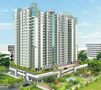 Gallery Cover Image of 715 Sq.ft 1 BHK Apartment for rent in Kamanwala Manavsthal, Malad West for 25000