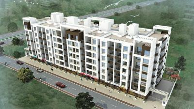 Gallery Cover Image of 633 Sq.ft 1 BHK Apartment for rent in Gokulam, Chikhali for 9500