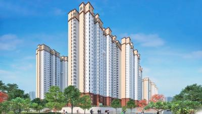 Gallery Cover Image of 1373 Sq.ft 3 BHK Apartment for buy in Prestige Jindal City, Anchepalya for 8151100