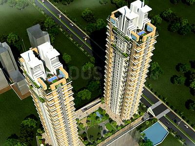 Gallery Cover Image of 1350 Sq.ft 3 BHK Apartment for buy in Deep Homes And Constructions Mumbai Auralis The Twins, Thane West for 19000000