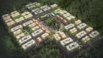 Gallery Cover Image of 1395 Sq.ft 3 BHK Apartment for buy in Eco Eden City, Boisar for 4800000