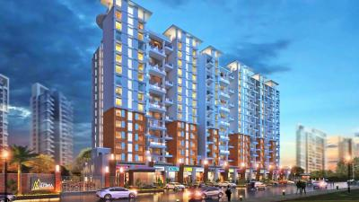Gallery Cover Image of 1575 Sq.ft 3 BHK Apartment for buy in Vertical Alcinia Phase I, Mohammed Wadi for 7900000