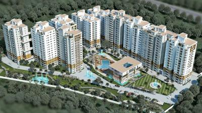 Gallery Cover Image of 626 Sq.ft 1 RK Apartment for rent in Ahad Euphoria, Carmelaram for 18000