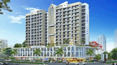 Gallery Cover Image of 1260 Sq.ft 2 BHK Apartment for buy in Laxmi Icon, Seawoods for 24000000