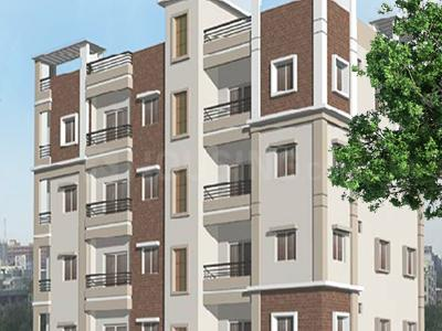 Gallery Cover Image of 1208 Sq.ft 3 BHK Apartment for buy in Trust Tower Hills Residency, Chintalmet for 7655000