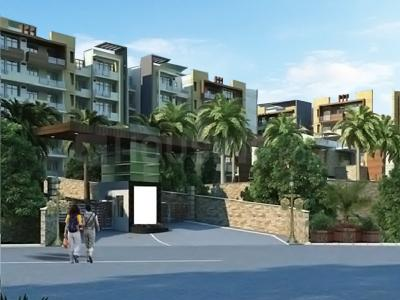 Gallery Cover Image of 1100 Sq.ft 2 BHK Independent House for buy in Ubber Golden Palms Villa, Mubarakpur for 3100000