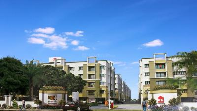 Gallery Cover Image of 986 Sq.ft 2 BHK Apartment for rent in Earth Homes, Siruseri for 11000