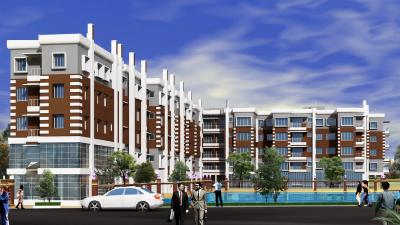 Gallery Cover Image of 1130 Sq.ft 3 BHK Apartment for buy in CB Enclave, Rajpur Sonarpur for 3300000