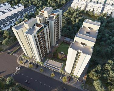 Gallery Cover Image of 1450 Sq.ft 3 BHK Apartment for buy in Kavisha Group Panorama, Bopal for 4350000