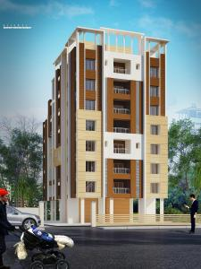 Gallery Cover Image of 650 Sq.ft 2 BHK Apartment for rent in PS Pristine, Tollygunge for 8000