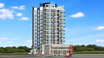 Gallery Cover Image of 600 Sq.ft 1 RK Apartment for rent in Goldstar Decent Homes, Mira Road East for 15000