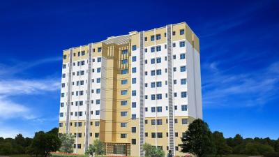 Gallery Cover Image of 600 Sq.ft 1 BHK Apartment for rent in Omaxe Heights – Service Personnel Apartments, Sector 86 for 4000