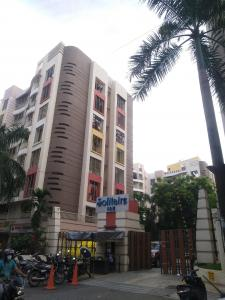 Gallery Cover Image of 650 Sq.ft 1 BHK Apartment for rent in Solitaire Society, Mira Road East for 15000