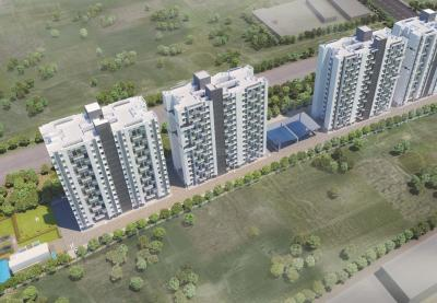 Gallery Cover Image of 650 Sq.ft 1 BHK Apartment for buy in Benchmarrk Kairosa Cluster A, Punawale for 3400000