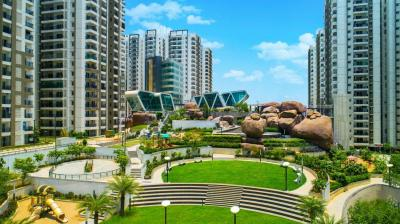 Gallery Cover Image of 1580 Sq.ft 3 BHK Apartment for rent in Cybercity Rainbow Vistas Rock Garden, Borabanda for 29000