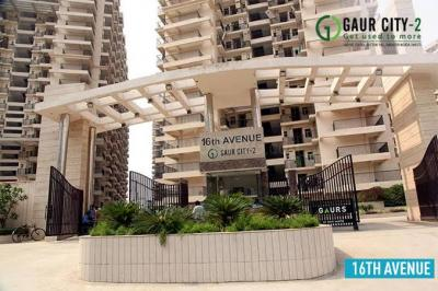Gallery Cover Image of 890 Sq.ft 2 BHK Apartment for rent in Gaursons India Gaur City 2 16th Avenue, Noida Extension for 10000