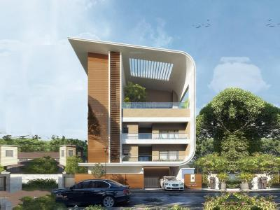 Gallery Cover Image of 2779 Sq.ft 3 BHK Apartment for buy in Sobha 25 Richmond, Ashok Nagar for 77800000