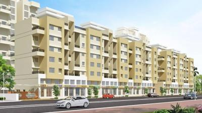 Gallery Cover Image of 607 Sq.ft 1 BHK Apartment for buy in Essen Shonest Towers, Wakad for 3900000