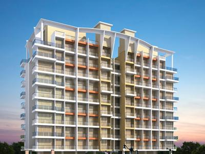 Gallery Cover Image of 550 Sq.ft 1 BHK Apartment for rent in Tricity Grand, Kharghar for 12000