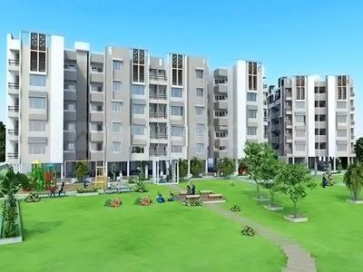 Gallery Cover Image of 1215 Sq.ft 2 BHK Apartment for buy in Shukan River View by Shukan Group, Sardar Colony for 5500000