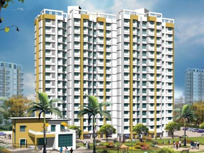 Gallery Cover Image of 540 Sq.ft 1 BHK Apartment for rent in Raunak Unnathi Greens, Kasarvadavali, Thane West for 12000