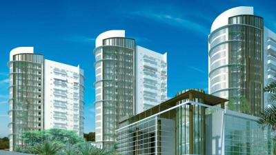 Gallery Cover Image of 1950 Sq.ft 3 BHK Apartment for rent in Emaar The Palm Drive, Sector 66 for 46000