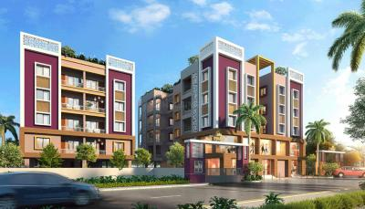 Gallery Cover Image of 659 Sq.ft 1 BHK Apartment for buy in Sun Dwarka, Salt Lake City for 3427000