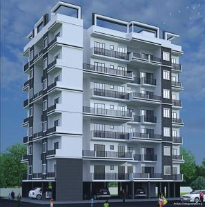Gallery Cover Image of 730 Sq.ft 1 BHK Apartment for buy in Nirvaana Residency, Karjat for 1800000