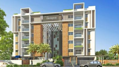 Gallery Cover Image of 1826 Sq.ft 3 BHK Apartment for rent in Hallmark Tranquil, Puppalaguda for 27000