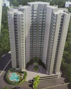 Gallery Cover Image of 650 Sq.ft 1 BHK Apartment for rent in Rizvi Cedar, Kandivali East for 25000