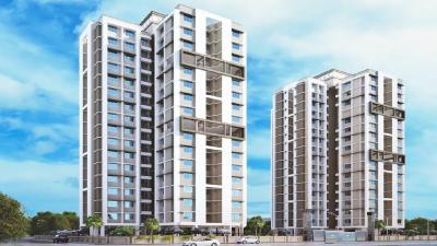Gallery Cover Image of 600 Sq.ft 1 BHK Apartment for rent in Raunak Unnathi Woods Phase 3, Kasarvadavali, Thane West for 15000