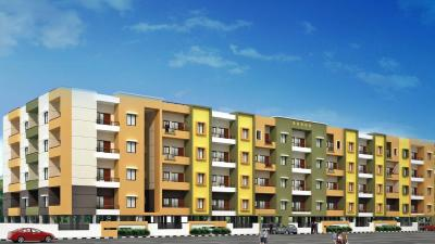 Gallery Cover Image of 1250 Sq.ft 3 BHK Apartment for buy in Sai Ashirwaadh Paradise Block 3, Parappana Agrahara for 6000000
