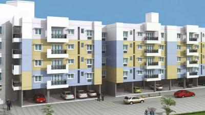 Gallery Cover Image of 595 Sq.ft 1 BHK Apartment for rent in Jayaram Gardens, Manapakkam for 11500