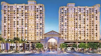 Gallery Cover Image of 630 Sq.ft 1 BHK Apartment for buy in Hiranandani Fortuna B, Hiranandani Estate for 7800000