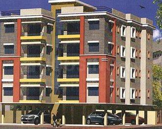 Gallery Cover Image of 700 Sq.ft 2 BHK Apartment for rent in JS Abanti Apartment by J S Construction, Thakurpukur for 12500